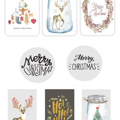 Printable: Weihnachtsanhänger zum Ausdrucken