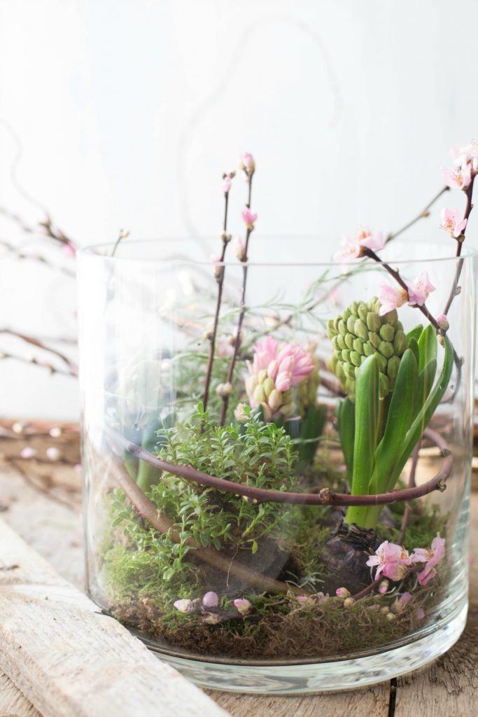 Frühlingsblumen DIY bei Frühstück bei Emma - Passion Friday DIY