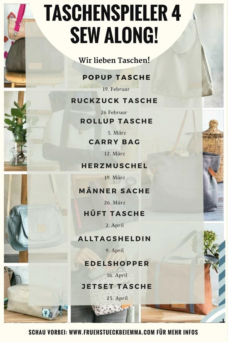 Sew Along PopUp Tasche bei Frühstück bei Emma - Taschenspieler 4
