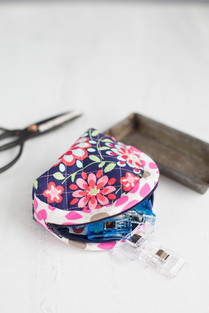 Eine Quilted Notions Pouch