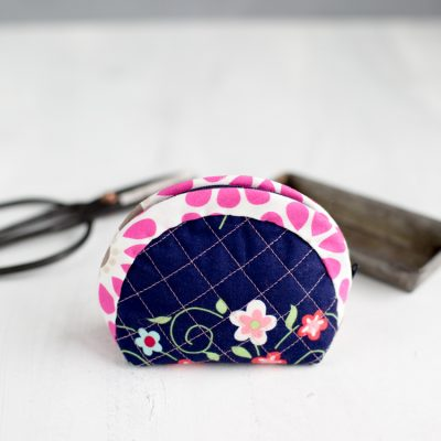 Passion Friday NÄHEN – Quilted Notions Pouch