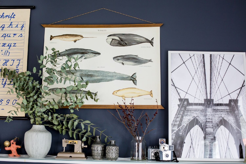 Was hängt im Wohnzimmer an der Wand - Was hänge ich an die Wand - Inspirationen