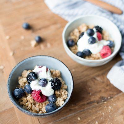 Passion Friday Food – gesundes Frühstück