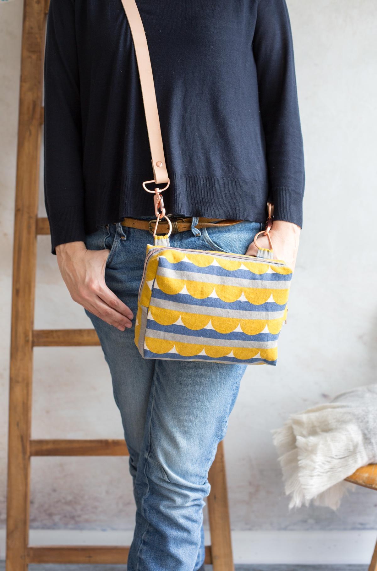 Hüfttasche Designbeispiel für den Taschenspieler 4 Sew Along