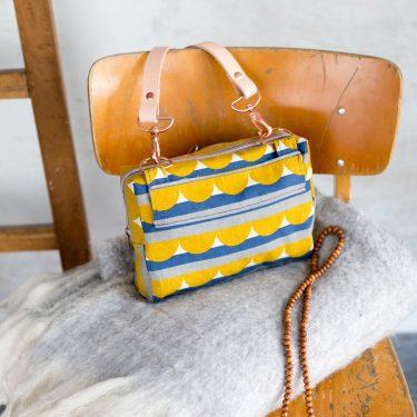 Crossover Tasche Hüfttasche Taschenspieler 4 von farbenmix