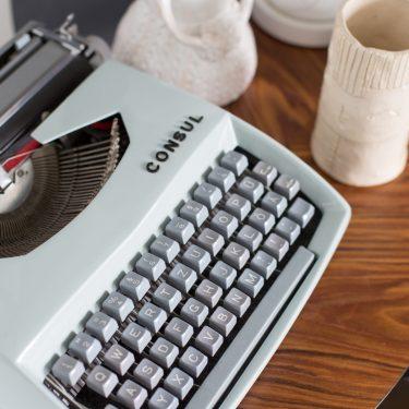 meine alte Schreibmaschine