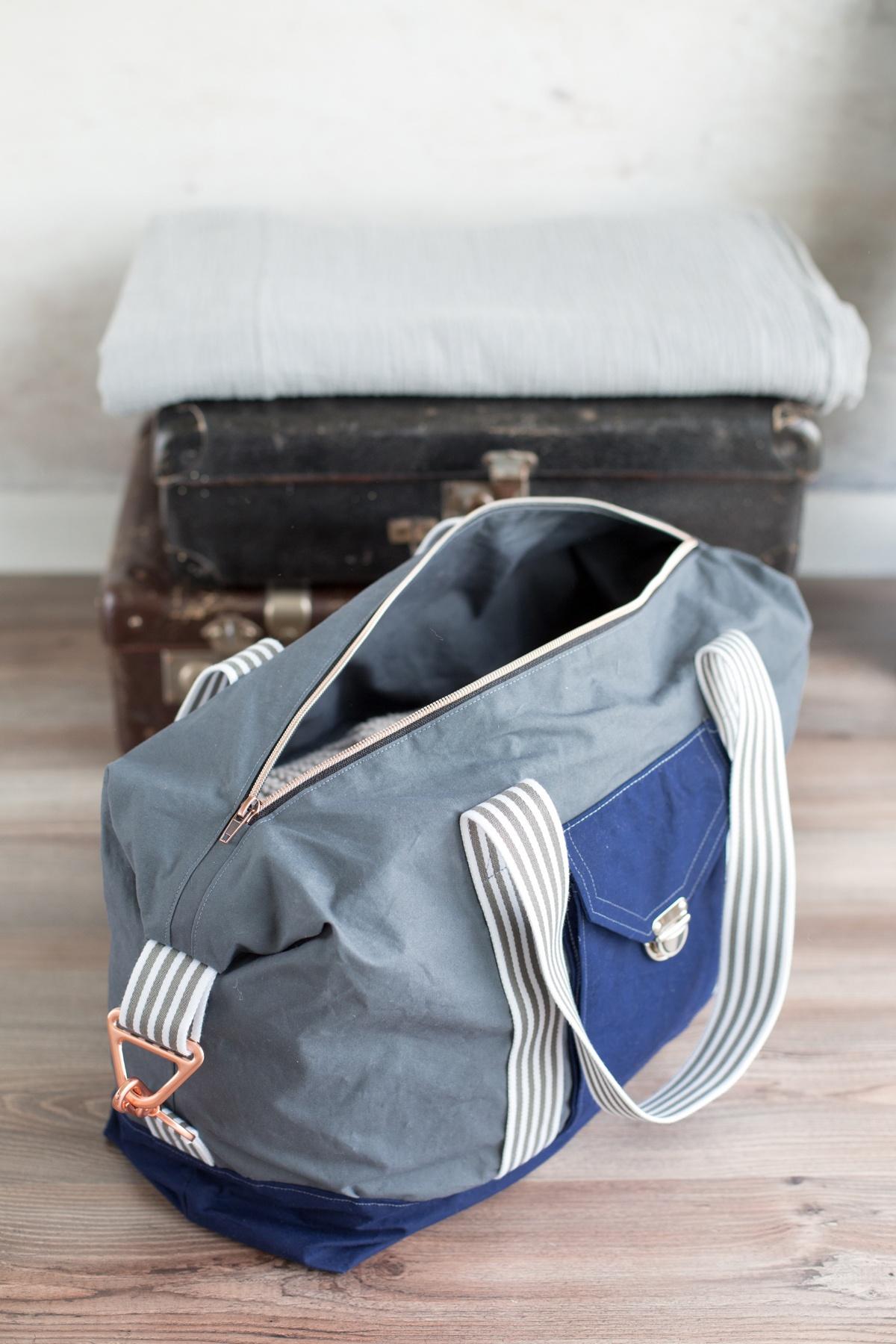 36ccf452456b1 Die Jetset Tasche des Taschenspieler 4 - für den Taschenspieler 4 Sew Along  bei Frühstück bei