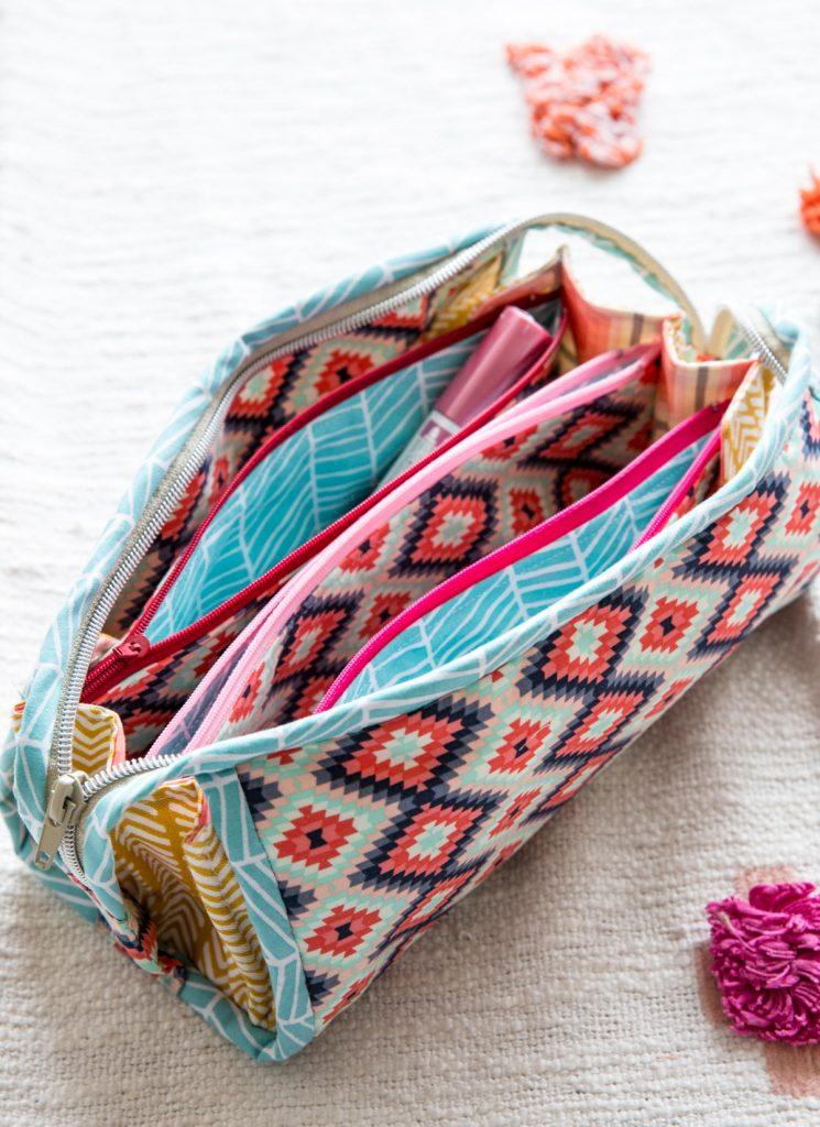 Stiftemäppchen nähen - mein Lieblingsschnittmuster Sew Together Bag