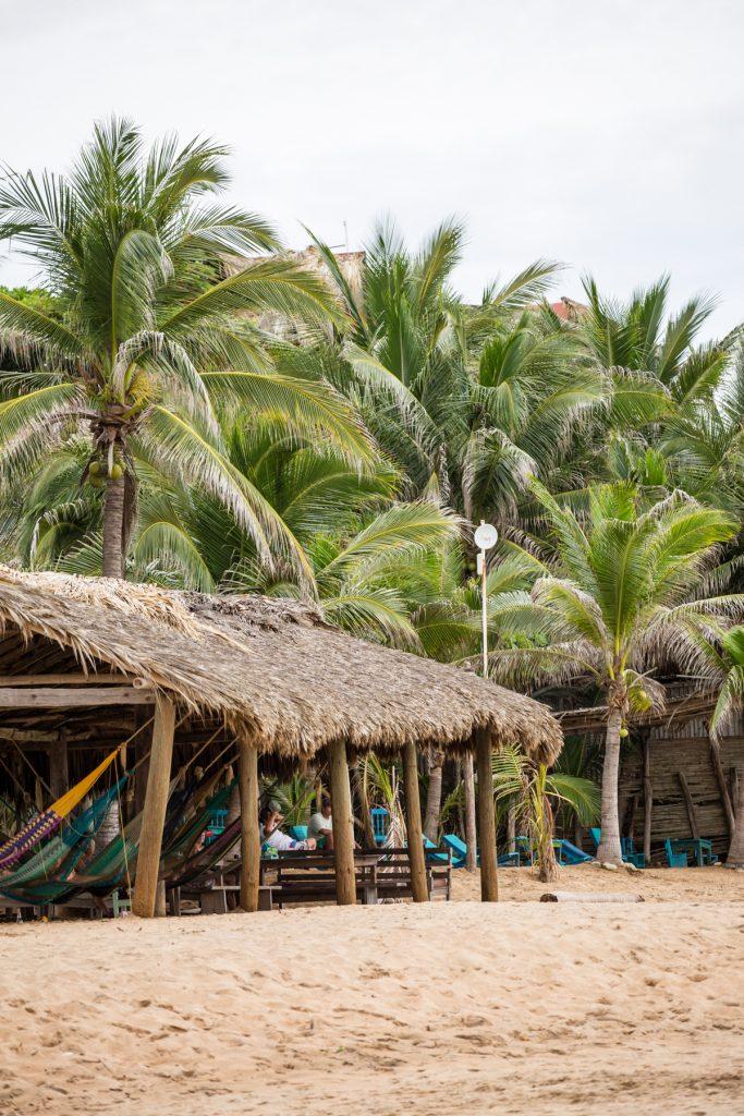 Oaxaca Küste - Frühstück bei Emma in Mexico unterwegs