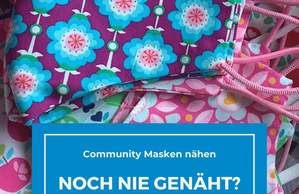 Mundschutz nähen – Tipps für Nähanfänger Community Masken