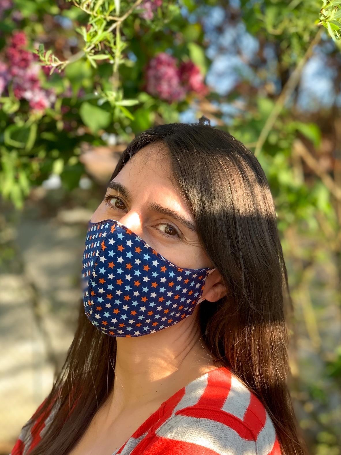 Corona Familientagebuch 6. Woche Community Maske nähen für Anfänger Nähtipps