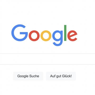Was passiert wenn wir bei Google was suchen?