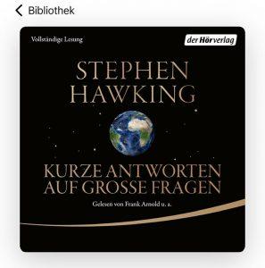 Hawking - meine Hörbuch Empfehlung - Frühstück bei Emma