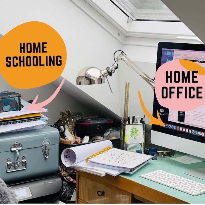 Homeoffice und Homeschooling wie passt das zusammen an einem Ort