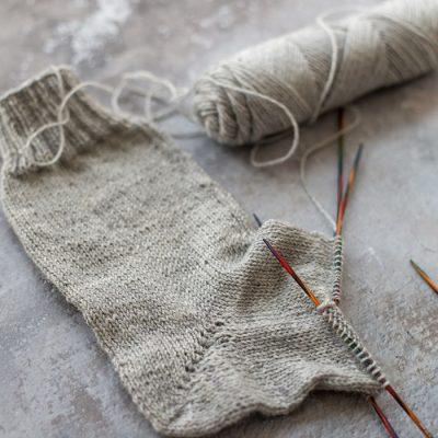 Die Ferse – das Socken stricken Update