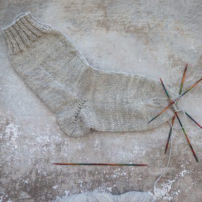 Die Sockenspitze – mein Update