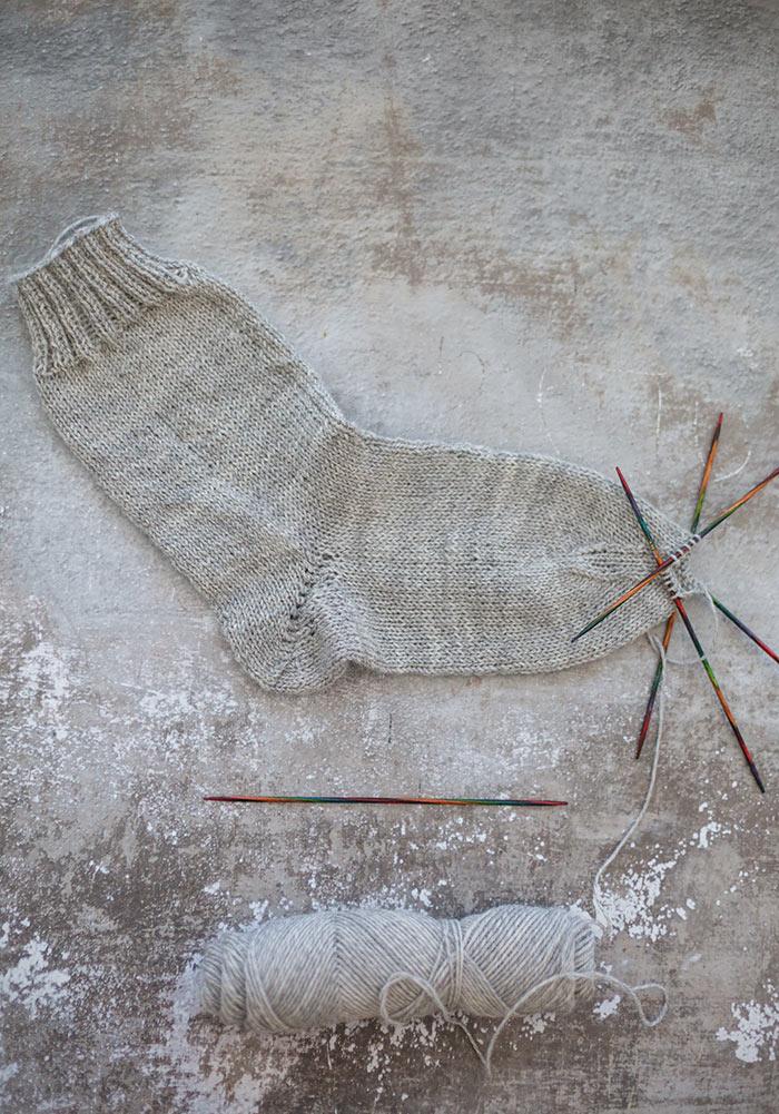 Die Sockenspitze mein Socken stricken lernen Update