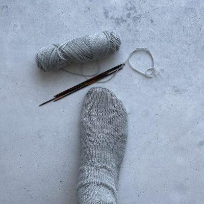 Die erste Socke ist fertig – Socken stricken Update