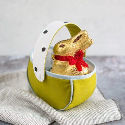 Schnittmuster Osterkörbchen (kostenlos)