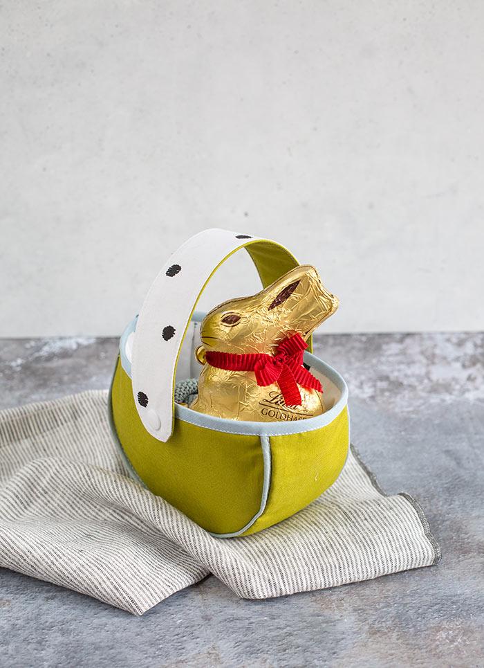 kostenloses Schnittmuster Osterkörbchen