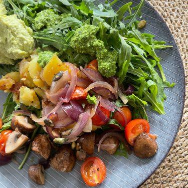 Bratkartoffel Salat