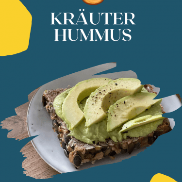 Kräuter Hummus Rezept leicht und lecker